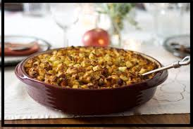 Stuffing with Apple and Bacon