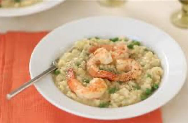 Shrimp Scampi Risotto