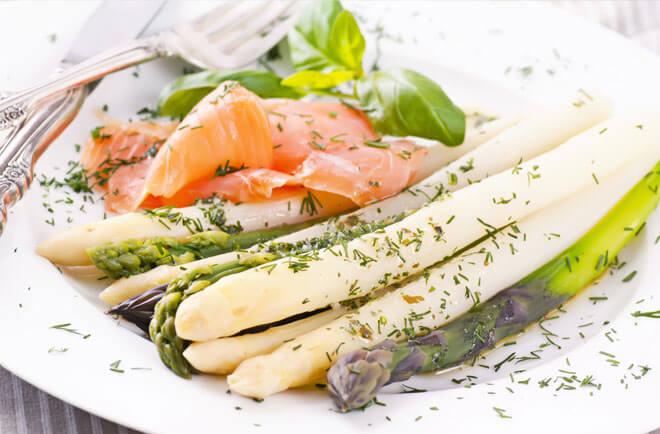 Asparagus and Smoked Salmon